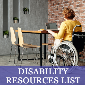 Disability Resources List